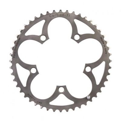 (カーボンチ/CarbonTi)(自転車用チェーンリング)X-Ring ROAD Full-Ti 110 アウター
