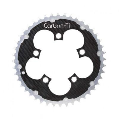 (カーボンチ/CarbonTi)(自転車用チェーンリング)チェーンリング 94 アウター アルミ/カーボン