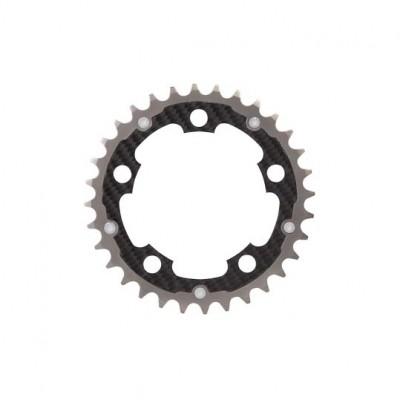 (カーボンチ/CarbonTi)(自転車用チェーンリング)チェーンリング 94 ミドル チタン/カーボン