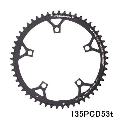 (ストロングライト/STRONGLIGHT)(自転車用チェーンリング)CT-2 135PCD カンパ10s (アウター)