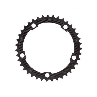 (カーボンチ/CarbonTi)(自転車用チェーンリング)X-Ring ROAD Al/Ca 130 インナー