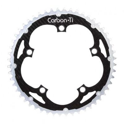 (カーボンチ/CarbonTi)(自転車用チェーンリング)X-Ring ROAD Al/Ca 135 アウター