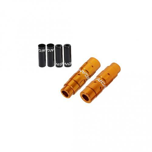 (AICAN/アイキャン)(自転車用パーツ)Shifter Housing Adjuster 2ヶ入 ゴールド