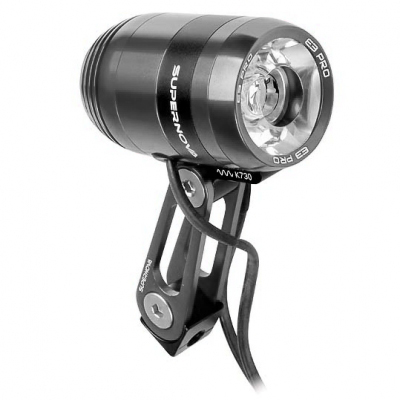 (SUPERNOVA/スーパーノヴァ)(自転車用フロントライト)E3 PRO 2 ライト グレー (マルチマウント)
