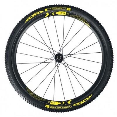 (TUFO/チューフォ)(自転車用ホイール)XC-LP MTB カーボンホイールセット 26 チューブラー
