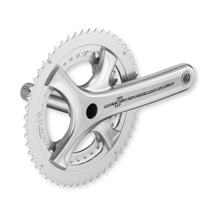 (Campagnolo/カンパニョーロ)(自転車用クランクセット関連)クランク パワートルク シルバー 172.5x39/53(FC17-POS293)