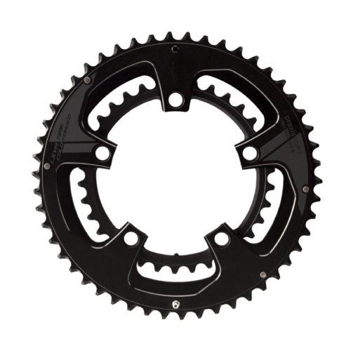 praxisworks プラクシスワークス 自転車用 チェーンリング関連 チェーンリング ROAD 130PCD 53/39 ブラック BUZZ コンポーネント 自転車 サイクリング 自転車用パーツ サイクルパーツ