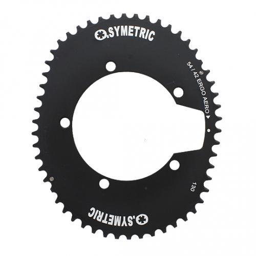 (STRONGLIGHT/ストロングライト)(自転車用チェーンリング関連)OSYMETRIC チェーンリングキット 130PCD エアロ (56/44)