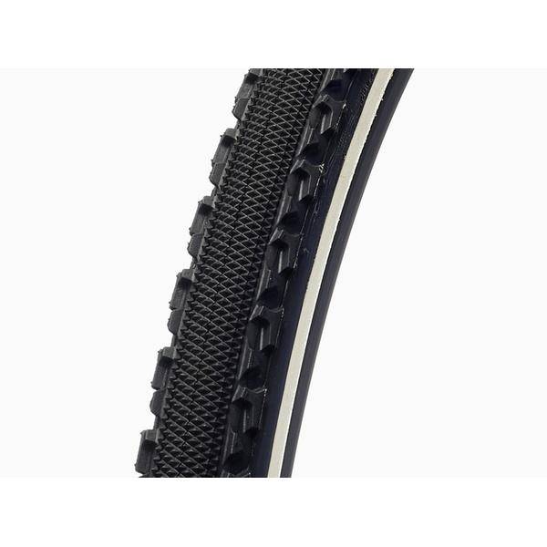 (Challenge/チャレンジ)(自転車用タイヤ)(シクロクロス)シケイン TEAM EDITION Soft ブラックxホワイト 33c