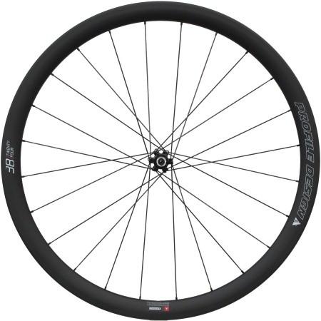 (PROFILEDESIGN/プロファイルデザイン)(自転車用ホイール)38 TWENTY FOUR DiscBrake Clincher Front