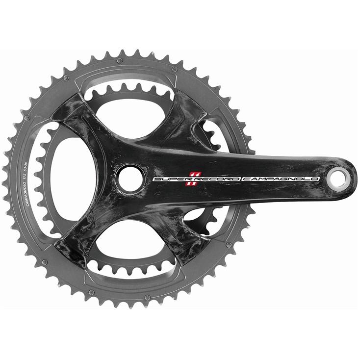 (Campagnolo/カンパニョーロ)(自転車用クランク)クランク ウルトラトルク Tiシャフト(2015)( 170x39/53(FC15-SR093CT)