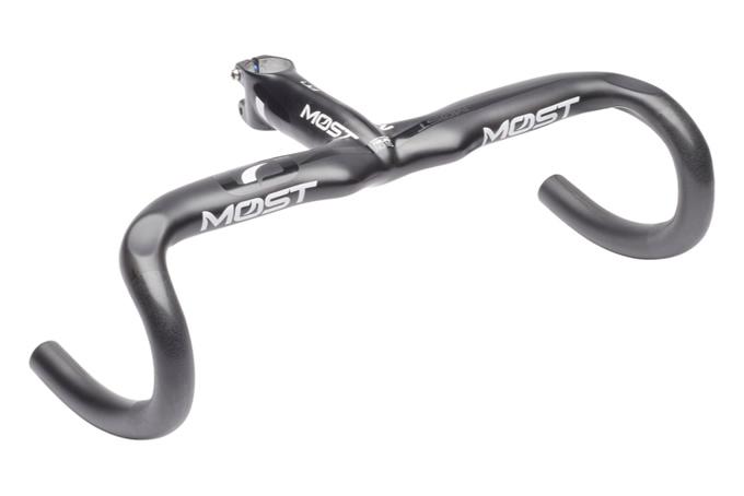 (MOST/モスト)(自転車用ドロップハンドル)インテグレーテッドハンドルバー TALON COMPACT UD マットブラック