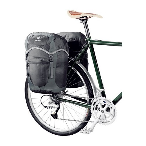 deuter ドイター 自転車用バッグ ラックパックユニ バイク用 サイドパック 自転車 サイクリング アウトドア