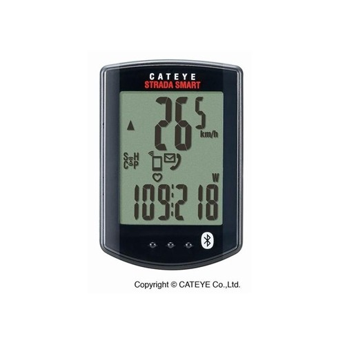 (CATEYE/キャットアイ)(サイクルコンピューター)CC-RD500B ストラーダスマート(トリプルキット)(心拍/スピード/ケイデンスセンサーセット)