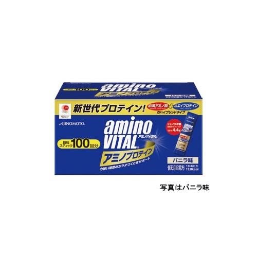 (aminoVITAL/アミノバイタル)(サプリメント)アミノバイタルプロテイン100本 レモン