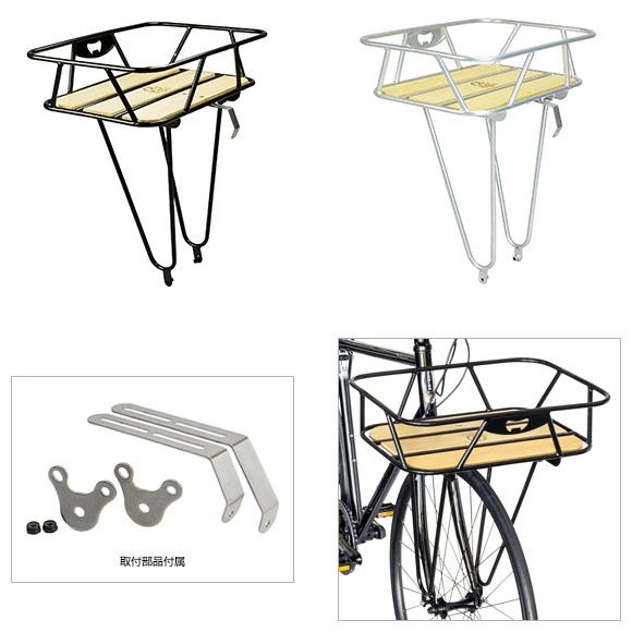 (GAMOH/ガモー)(自転車用かご)KCL-1 キングキャリア- フロント