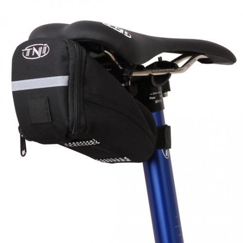 自転車用サドルバッグ TNI 通販 ティーエヌアイ自転車用バッグ M15×10×10 営業 サドルバッグ