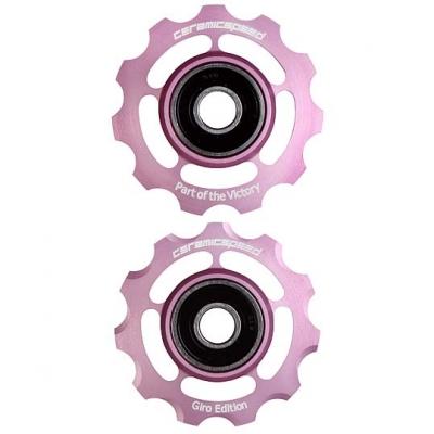 (セラミックスピード/CERAMICSPEED)(自転車用パーツ)オリジナルプーリーキット カンパ 11s ピンク
