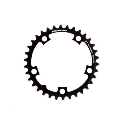 (ストロングライト/STRONGLIGHT)(自転車用チェーンリング)Z(7075) 110PCDチェーンリング (36T/ブラック) 10/11s