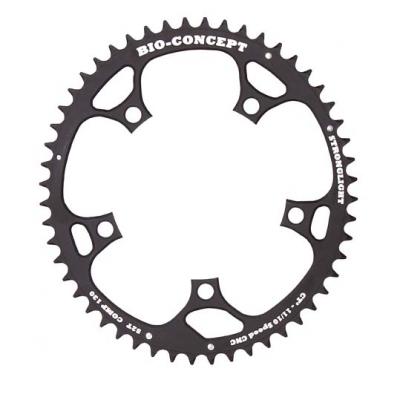 (ストロングライト/STRONGLIGHT)(自転車用チェーンリング)CT2 バイオコンセプト 130PCDチェーンリング (53T) インナー42T適合