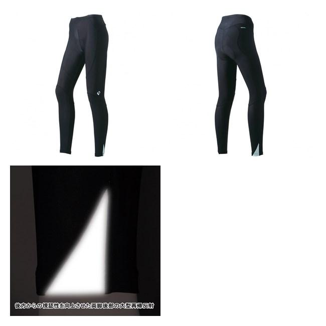 (パールイズミ/PEARLiZUMi)(自転車用ウェア/女性/レディース)(2017春夏)(WB228-3DNP)コールドブラック UV タイツ (2サイズワイド)