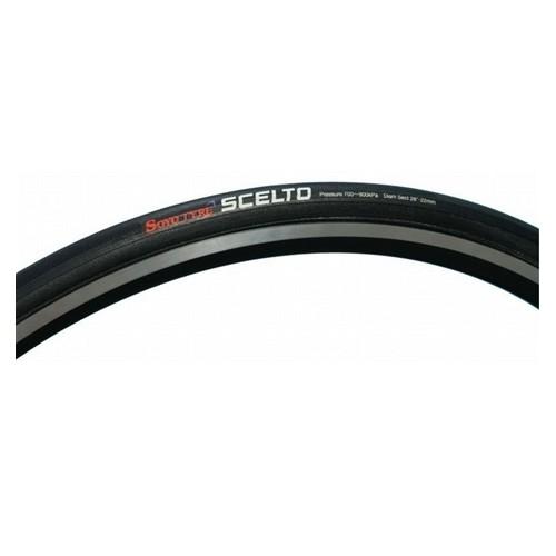 (SOYO/ソーヨー)(自転車用タイヤ)シェルト(SCELTO) ラテックス シームレスタイヤ (仏バルブ)(42mm)