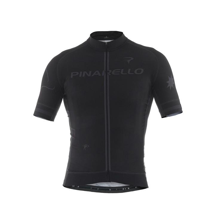 (PINARELLO/ピナレロ)(自転車用ウェア/男性用/メンズ)FRC STARS フルジップジャージ ピナブラック