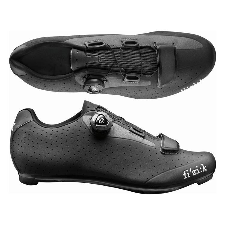 (fizik/フィジーク)(自転車用シューズ/靴用品)R5B UOMO(メンズ)BOA ブラック/グレー 39 サイクリングシューズ 自転車 ロードバイク シューズ サイクルシューズ サイクリング