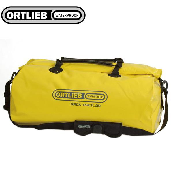 ORTLIEB オルトリーブ ドラムバッグ ダッフルバッグ ラックパック/XL H40xW71xD40cm イエロー 自転車 ロードバイク サイクリング アウトドア