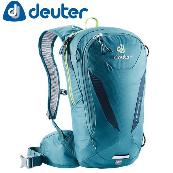 deuter ドイター D3200018-3383 コンパクト6 デニム/NV バックパック リュック 自転車 サイクリング アウトドア 通勤 通学