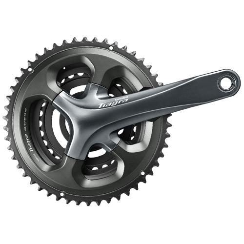 SHIMANO シマノ 自転車用 クランクセット FC-4703 50X39X30T 165mm 10S コンポーネント 自転車 サイクリング 自転車用パーツ サイクルパーツ