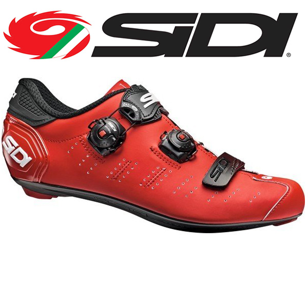 (SIDI/シディー)ERGO 5 MATT RED/BLK
