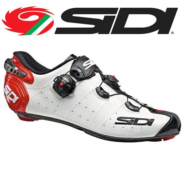 SIDI シディー シューズ ビンディングシューズ WIRE 2 WHT/BLK/RED ワイヤー 2 サイクルシューズ