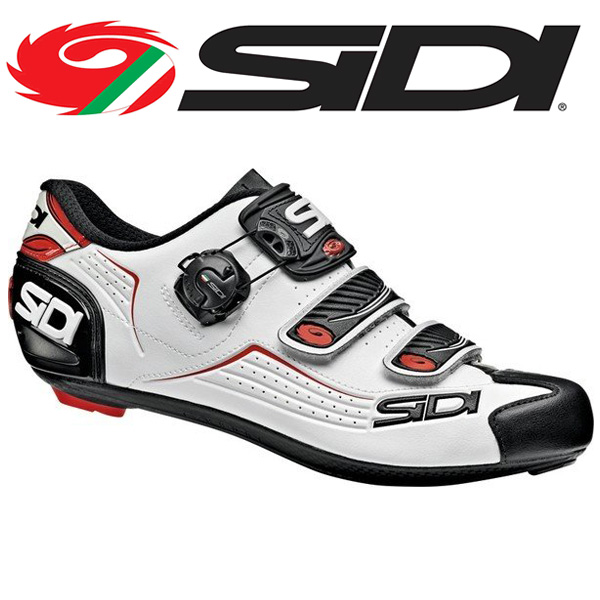 SIDI シディー シューズ ビンディングシューズ ALBA WHT/BLK/RED アルバ サイクルシューズ