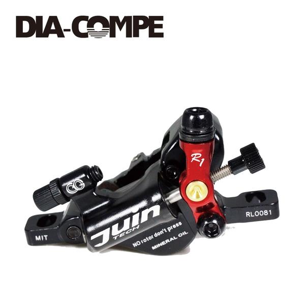 (DIA-COMPE/ダイアコンペ)R1 Disc Brake 前後セット BK/RD