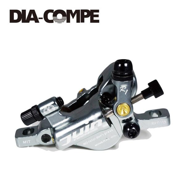 (DIA-COMPE/ダイアコンペ)R1 Disc Brake 前後セット GY