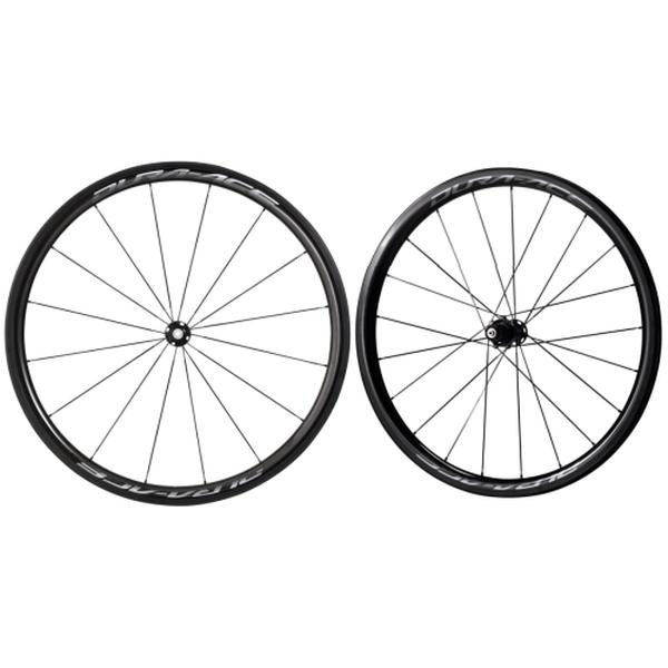 (SHIMANO/シマノ)(ロードバイク/自転車用ホイール)DURAACE(デュラエース) WH-R9100 C40 TU(チューブラー) 前後セット ホイール