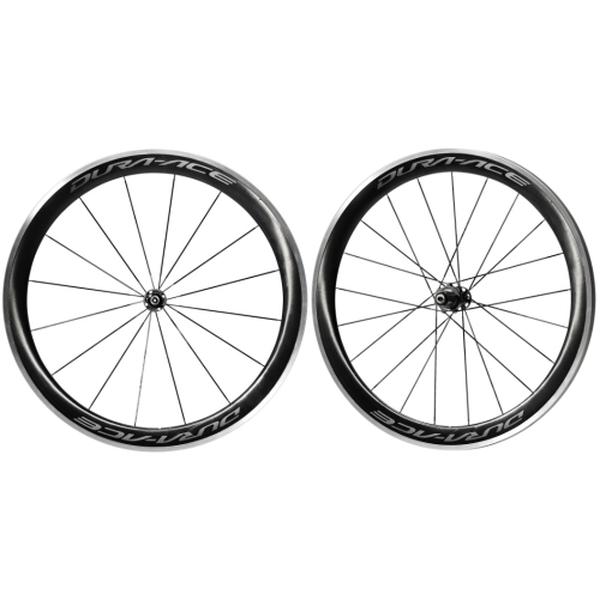 (SHIMANO/シマノ)(ロードバイク/自転車用ホイール)DURAACE(デュラエース) WH-R9100 C60 CL(クリンチャー) 前後セット ホイール