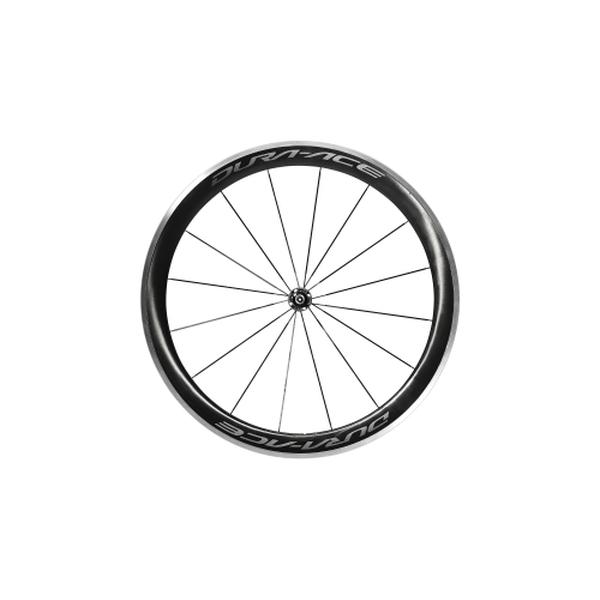 SHIMANO シマノ ロードバイク 自転車用 ホイール DURAACE デュラエース WH-R9100 C60 CL クリンチャー フロント ホイール 自転車 サイクリング 自転車用パーツ サイクルパーツ