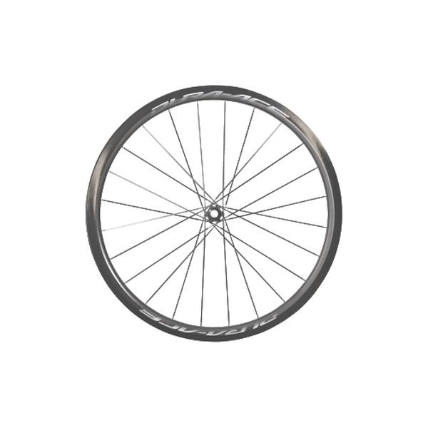 (SHIMANO/シマノ)(ロードバイク/自転車用ホイール)DURAACE(デュラエース) WH-R9170 C40 TL(チューブレス) フロント 12mmEスルー ホイール
