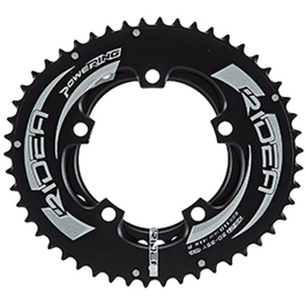 (RIDEA/リデア)(自転車用チェーンリング)ROAD POWER RING FULL PLATE 130 /5アーム 53/40T