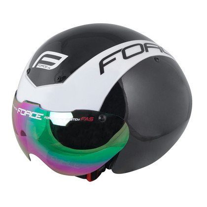 (FORCE/フォース)(自転車用ヘルメット関連)Globe ヘルメット L-XL black/white(901863)