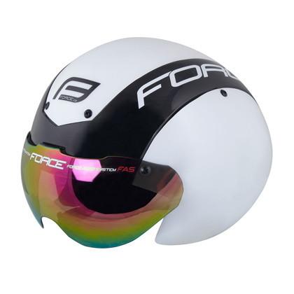 (FORCE/フォース)(自転車用ヘルメット関連)Globe ヘルメット S-M white/black(901860)