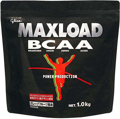 (glico/グリコ)MAXLOAD BCAA グレープフルーツ風味 1.0kg