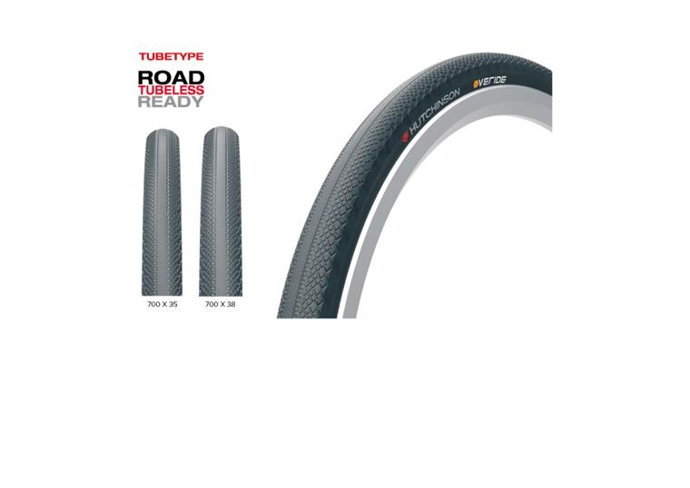 (HUTCHINSON/ハッチンソン)ロードバイクタイヤ OVERIDE(オーバーライド) TT(700x38)(PV527371)