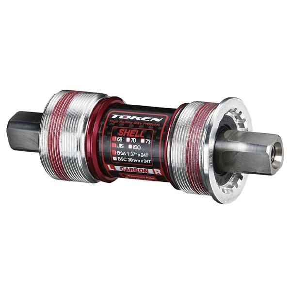(TOKEN/トーケン)TK8695TBT ISO/カンパ BB 68-115.5 チタン軸
