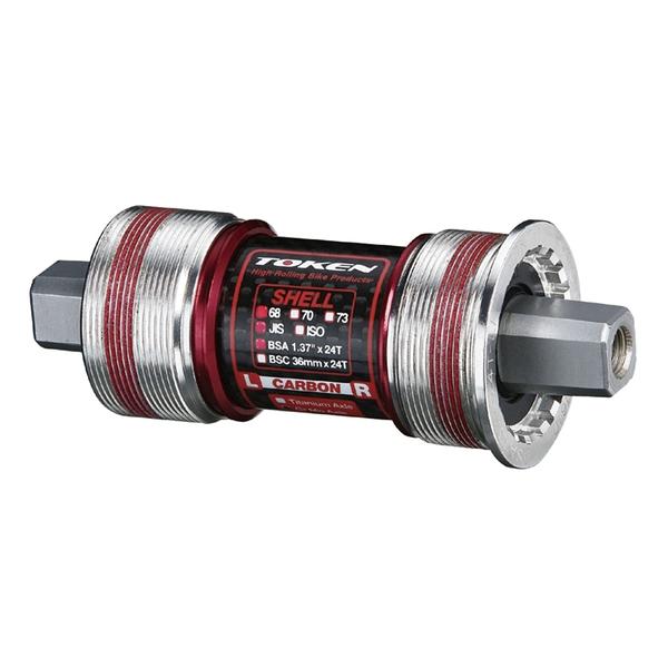 (TOKEN/トーケン)TK8675TBT ISO/カンパ BB 68-115.5 クロモリ軸