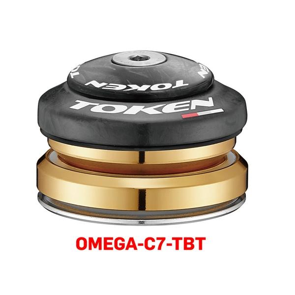 (TOKEN/トーケン)OMEGA C7TBT 1-1/4テーパー ヘッドセット インテグラル