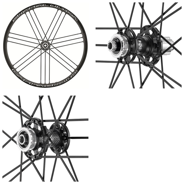(Campagnolo/カンパニョーロ)SHAMAL ULTRA C17 DB (Thru-Axle+AFS)(F+R) 2-WAY FIT カンパ