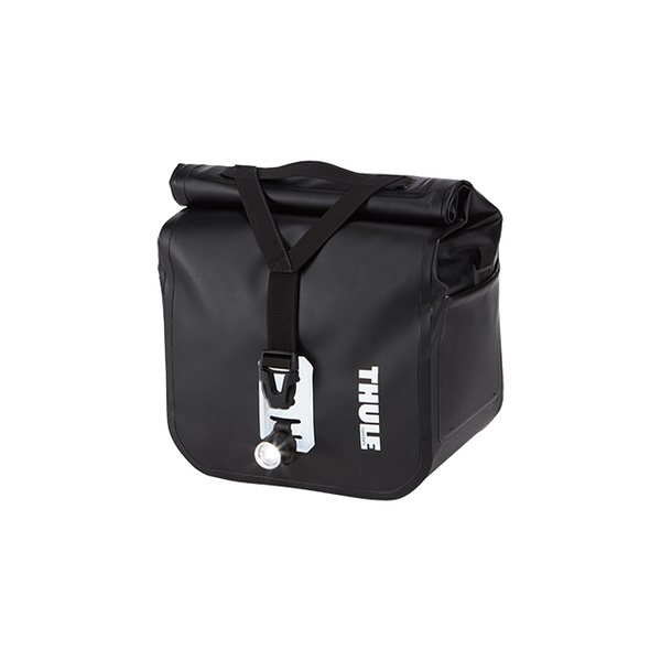 THULE PACK N PEDAL スーリーパックンペダル バッグ PACK N PEDAL シールドパニアバッグ S ブラック 100075